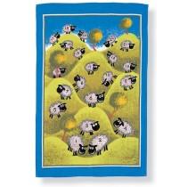 Buy the Ulster Weavers Tea Towel Sheep Print online at smithsofloughton.com