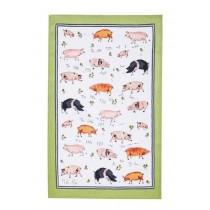 Buy the Ulster Weavers Tea Towel This Pig Print online at smithsofloughton.com