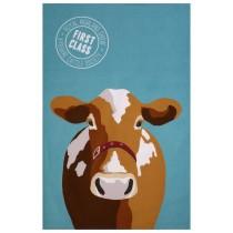 Buy the Uster Weavers Tea Towel Cow Print online at smithsofloughton.com