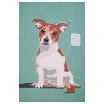 Buy the Uster Weavers Tea Towel Jack Russell Print online at smithsofloughton.com