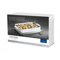 Buy the Villeroy and Boch Clever Cooking Rectangular Baking Dish with Lid, 30x20cm online at smithsofloughton.com