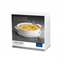 Buy the Villeroy and Boch Clever Cooking Round Baking Dish with Lid, 24 cm online at smithsofloughton.com