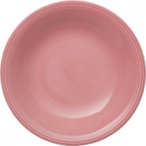 Buy the Villeroy and Boch Color Loop Rose Deep Plate online at smithsofloughton.com