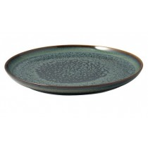 Buy the Villeroy and Boch Crafted Breeze Medium Plate Grey Blue online at smithsofloughton.com