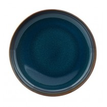 Buy the Villeroy and Boch Crafted Denim Open Bowl Blue online at smithsofloughton.com