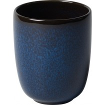 Buy the Villeroy and Boch Lave Bleu Beaker 400ml online at smithsofloughton.com