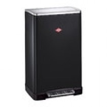 Buy the Wesco Big Double Boy 40L Bin Black online at smithsofloughton.com