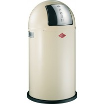 Buy the Wesco Pushboy 50L Almond Bin online at smithsofloughton.com