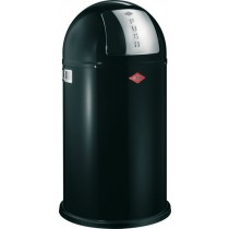 Buy the Wesco Pushboy 50L Black Bin online at smithsofloughton.com