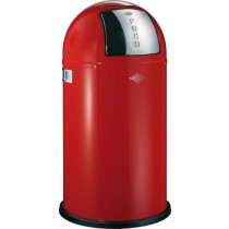 Buy the Wesco Pushboy 50L Red Bin online at smithsofloughton.com