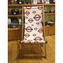 Buy the West Ham Tube Station Deck Chair online at smithsofloughton.com