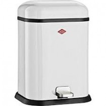 Buy the White Wesco Single Boy 13L Bin online at smithsofloughton.com