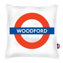 Buy The Woodford Tube Station Cushions online at smithsofloughton.com