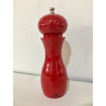Buy the Zassenhaus Dusseldorf Pepper Mill Red 19cm online at smithsofloughton.com