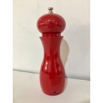 Buy the Zassenhaus Dusseldorf Salt Mill Red 19cm online at smithsofloughton.com