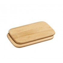 Buy the Zassenhaus Set of 2 Chopping Boards 26x17 cm online at smithsofloughton.com