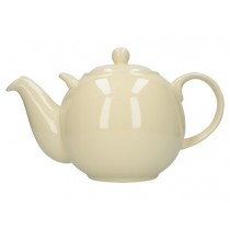 Buy theLondon Pottery 10 Cup GlobeTeapot Ivory online at smithsofloughton.com