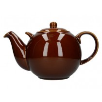 Buy theLondon Pottery 10 Cup GlobeTeapot Rockingham Brown online at smithsofloughton.com