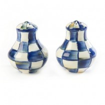 Buy this blue and white salt and pepper set online at smithsofloughton.com