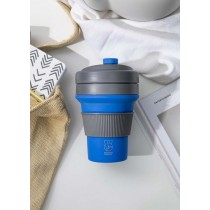 Buy this Colourworks Blue Silicone Collapsible Travel Mug online at smithsofloughton.com
