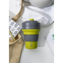 Buy this Colourworks Green Silicone Collapsible Travel Mug online at smithsofloughton.com