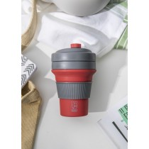 Buy this Colourworks Red Silicone Collapsible Travel Mug online at smithsofloughton.com