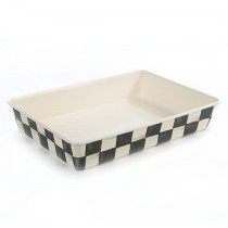 Buy this MacKenzie-Childs Courtly Check Enamel Baking Pan online at smithsofloughton.com
