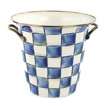 Buy this MacKenzie Childs Royal Check Enamel Wine Cooler online at smithsofloughton.com