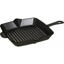 Buy this Staub Cast Iron Square Grill Pan 26 x 26 cm Black online at smithsofloughton.com