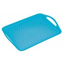 Colourworks Non-Slip Serving & Lap Tray Blue
