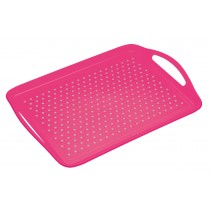 Colourworks Non-Slip Serving & Lap Tray Pink