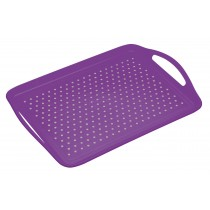 Buy the Colourworks Non-Slip Lap Tray in Purple online at smithsofloughton.com