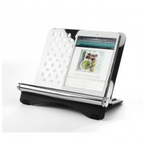 cookbook stand with tablet