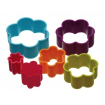 Kitchen Craft Colourworks Flower Shaped Cookie Cutters