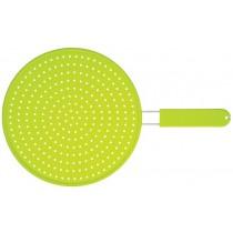 Kitchen Craft Colourworks Silicone Splatter Guard Green