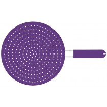 Kitchen Craft Colourworks Silicone Splatter Guard Purple