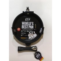 Buy the AMT Gastroguss Induction Deep Frying Pan Removable Handle 26 x 5cm online at smithsofloughton.com
