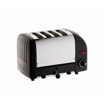 Dualit Vario 4 Slot Toaster Black