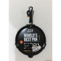 Buy the AMT Gastroguss Induction Frying Pan Fixed Handle 24 x 4cm online at smithsofloughton.com