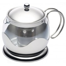 Buy Kitchen Craft Glass 900ml Infuser Teapot
