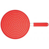 Kitchen Craft Colourworks Silicone Splatter Guard Red