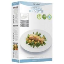 Kitchen Craft Microwave Fish Steamer online at smithsofloughton.com