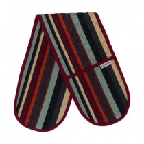 Sterck Double Oven Glove Rainbow Stripe Larvotto