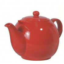 Buy London Pottery 10 Cup Red GlobeTeapot online at smithsofloughton.com