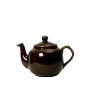London Pottery Company Farmhouse Filter 4 Cup Rockingham Brown Teapot