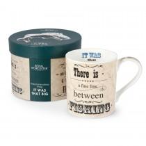 Royal Worcester Fishing Mug