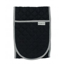 Buy Sterck Black Double Oven Gloves from Smithsofloughton.com