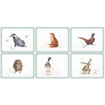 Pimpernel Wrendale Coasters Set of 6