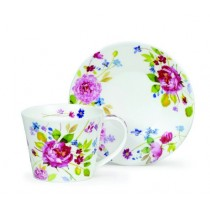 Purchase the Dunoon Islay Wild Garden Rose cup and saucer online at smithsofloughton.com