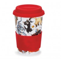 Purchase the Dunoon Travel Mug Pussy Galore online at smithsofloughton.com